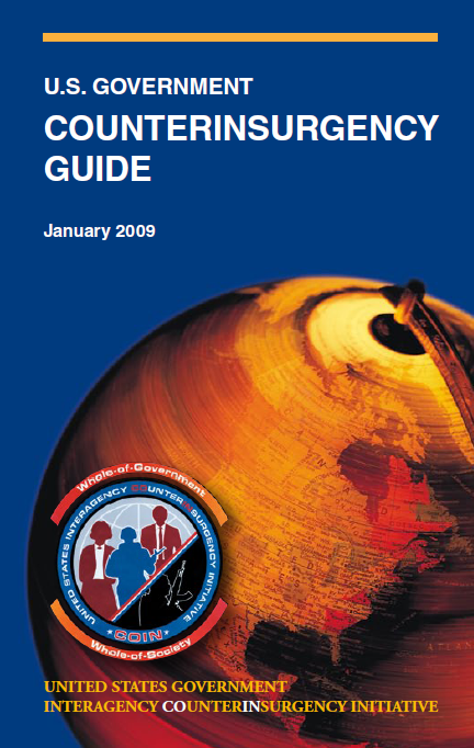 """Government Counterinsurgency Guide - US Department of State"" www.state.gov/documents/organization/119629.pdf"