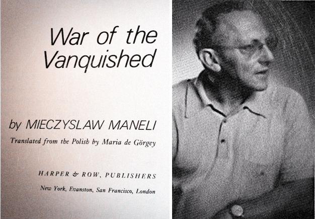 Trưởng Phái đoàn Ba Lan tại ICC, Mieczyslaw Maneli, và tác phẩm War Of The Vanquished. Nguồn: OntheNet