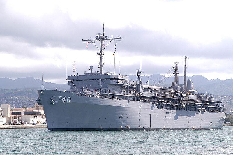 USS Frank Cable (AS 40) ở Trân Châu cảng - Căn cú chính.