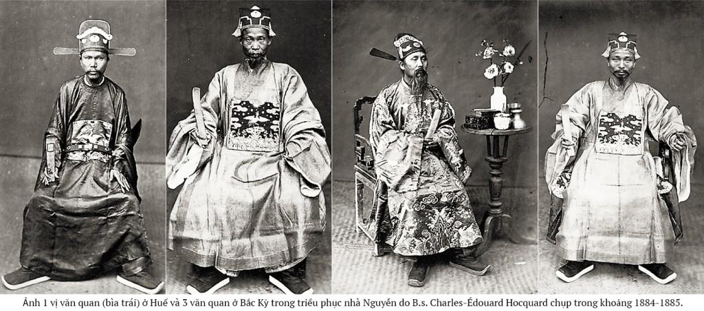 Hình của B.s. Charles-Édouard Hocquard chụp ở Huế và Bắc Kỳ trong khoảng 1884-1885.