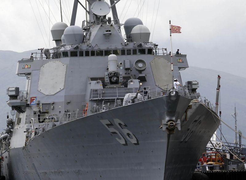 Khu trục hạm John McCain. Nguồn:  Bullit Marquez/AP-Photo