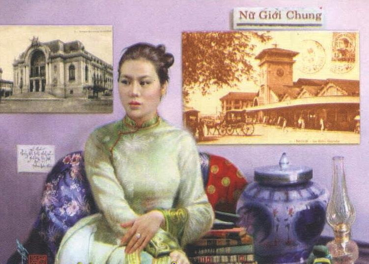 Sương Nguyệt Anh (1864 - 1921), tên thật Nguyễn Thị Khuê, là nhà thơ và là chủ bút nữ đầu tiên của Việt Nam. Tờ báo Nữ giới chung (Tiếng chuông nữ giới) do bà phụ trách là tờ báo đầu tiên của phụ nữ được xuất bản tại Sài Gòn. Tờ báo ra mắt ngày 1/2/1918, với chủ trương nâng cao dân trí, khuyến khích công nông thương và nhất là đề cao vai trò phụ nữ trong xã hội. Tầm ảnh hưởng của tờ báo khiến chính quyền thực dân bắt đình bản tờ báo vào tháng 7/1918. Nguồn: http://trithucsong.com