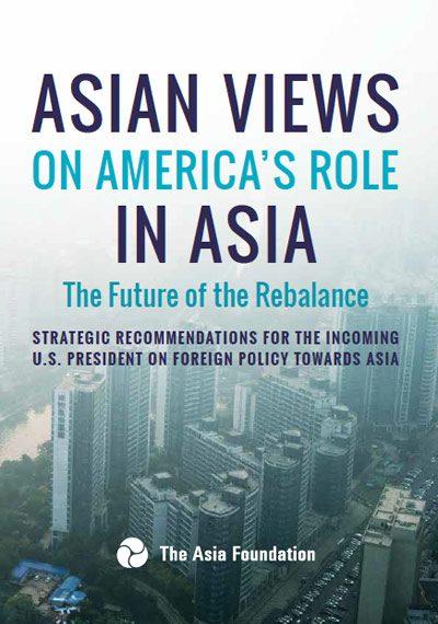 Bìa bản báo cáo 2016 của The Asia Foundation.