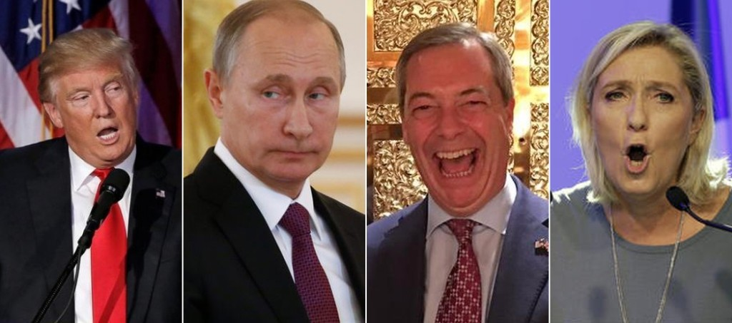 Trump, Putin, Farage, Le Pen: Trật tự thế giới mới?. gồn DCVOnline