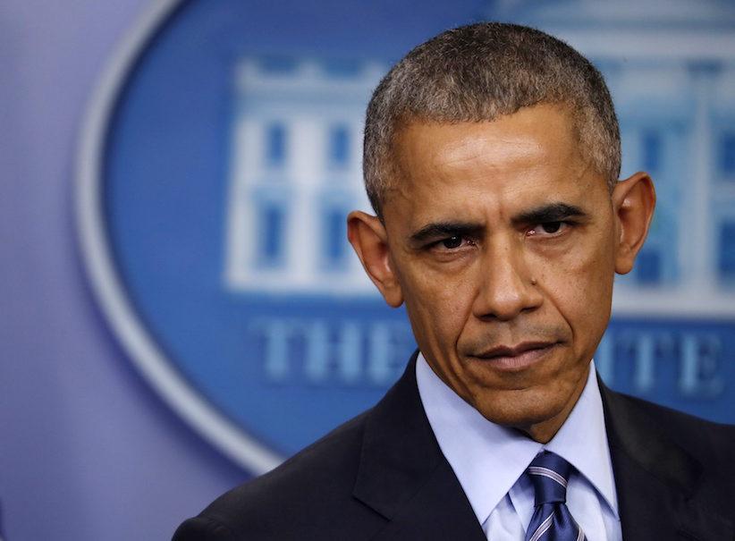 Tổng thống Barack Obama lắng nghe một câu hỏi trong cuộc họp báo tại Toà Bạch Ốc (Washington, Thứ Sáu Tháng 12 16, 2016.) Nguồn: AP Photo / Pablo Martinez Monsivais