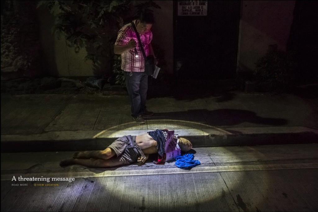Lời cảnh cáo kinh hoàn | Đầu nạn nhân bị quân băng bao bì.