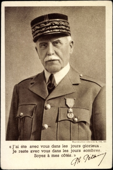 Thống chế Phillipe Pétain Nguồn Onthenet