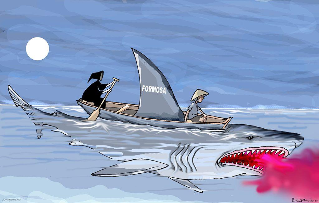 Cánh buồm ma trên biển Hà Tĩnh