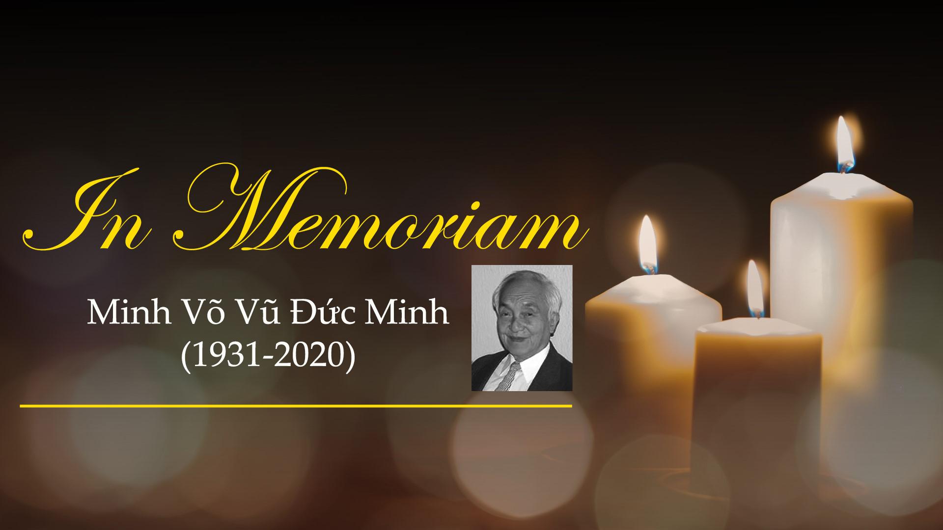 Minh Võ Vũ Đức Minh (1931-2020)