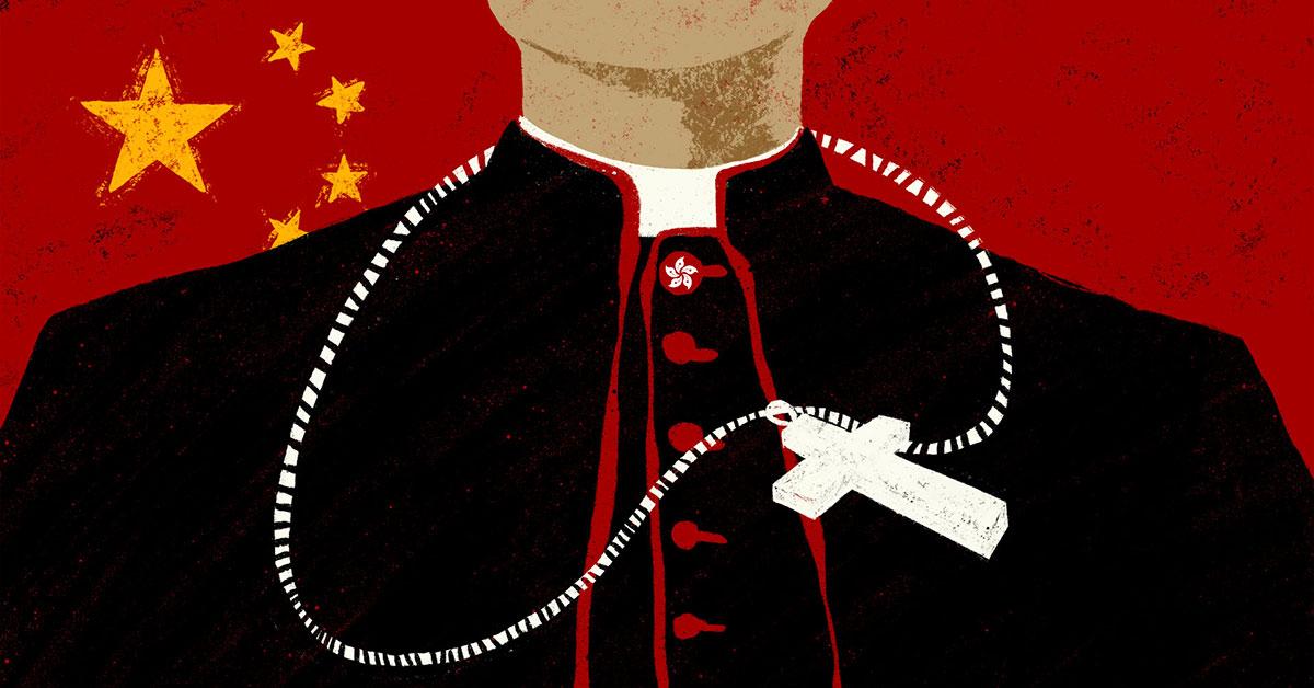 Nữ tu sĩ bị bắt, Bắc Kinh đàn áp giáo hội ở Hong Kong