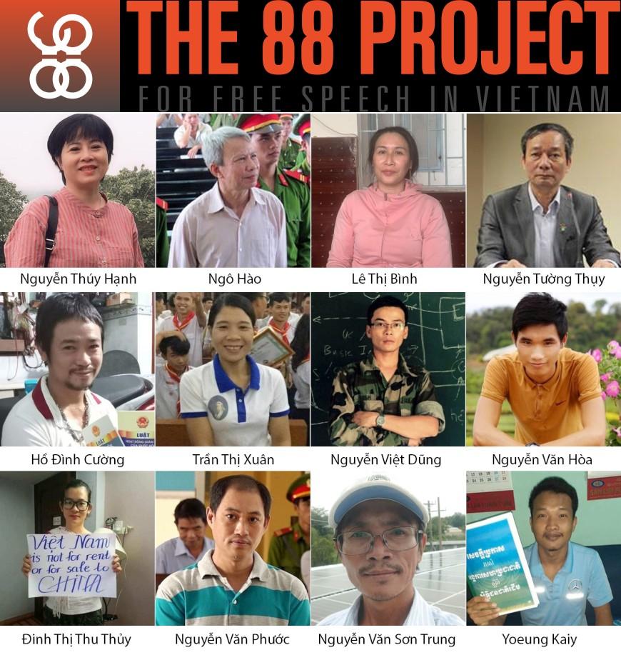 Ở Việt Nam, Đảng vẫn tiếp tục khủng bố người bất đồng chính kiến